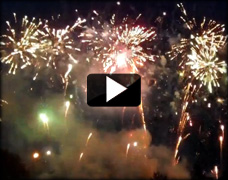 Corporate Event Fireworks Video